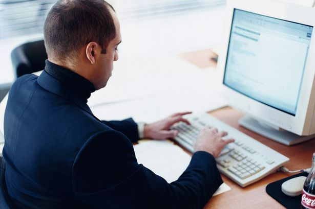 Image result for working on computer